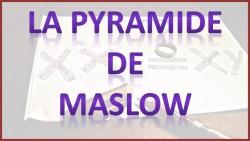 La pyramide de Maslow